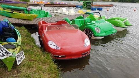 Rower Rowerek wodny Porsche Boxster
