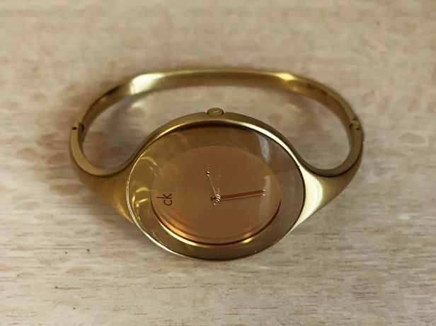 Женские наручные часы Calvin Klein оригинал позолоченные