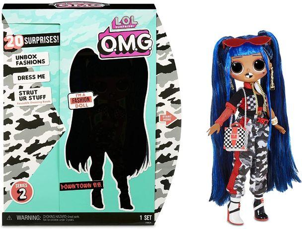 Оригинал! Кукла ЛОЛ Сюрприз Даунтаун Биби LOL Surprise MGA Downtown BB