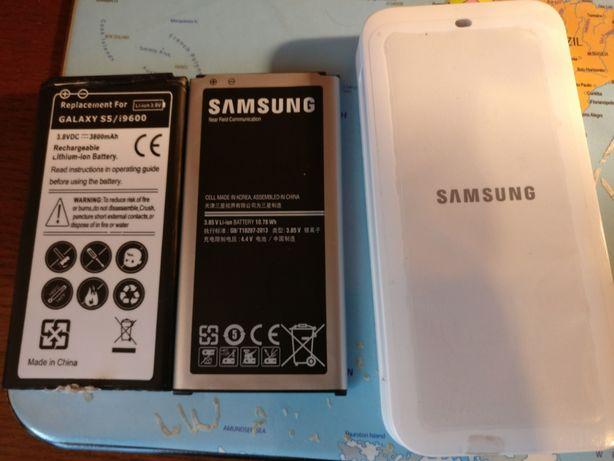 Bateria e Carregador externo Galaxy S5
