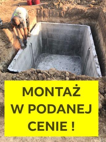 WojDolnośląskie TANIO szambo betonowe zbiornik na ścieki szamba Syców