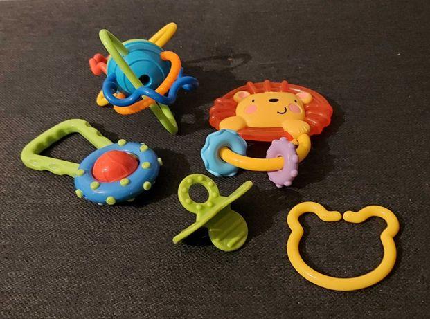 Gryzaki- zestaw 5 szt dla niemowląt