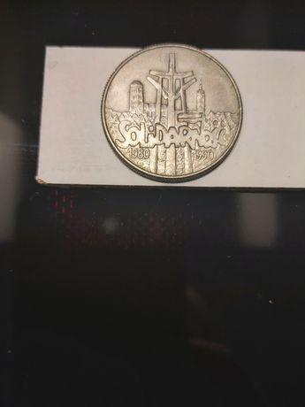 Moneta 10.000 zl. Solidarność