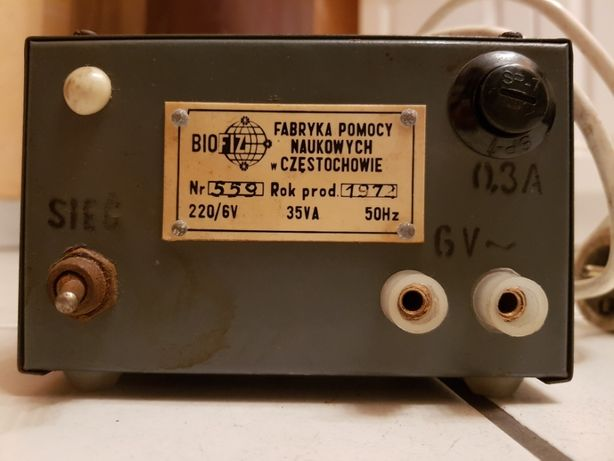 Transformator 6V, 6A, 35VA