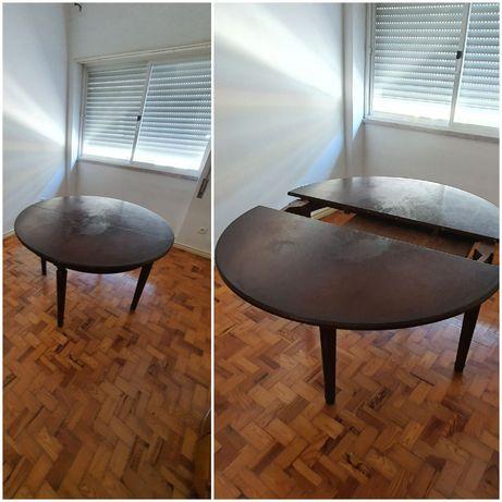 Mesa redonda/oval