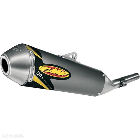 ponteira de escape fmf q4 hex slip-on muffler aluminum honda crf 250 l