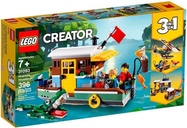 Конструктор LEGO Creator 31093 Плавучий дом на берегу реки