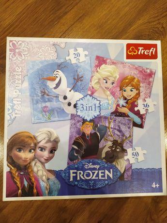 Puzzle Trefl Frozen 3 w 1