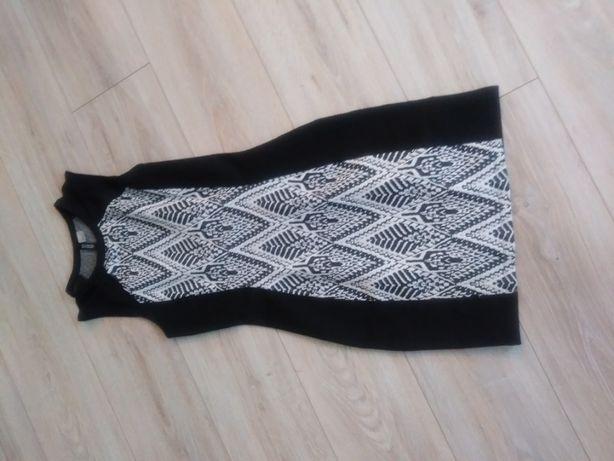 Sukienka impreza czarna krótka