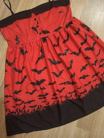 Платье большой размер Хэллоуин Halloween