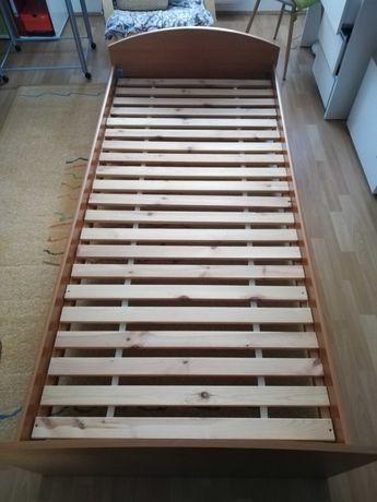 Sprzedam łóżko i materac 90x200 cm