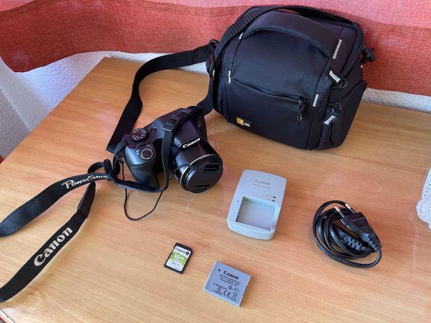 Máquina fotográfica Canon Powershot SX540 HS com bolsa + cartão 16gb