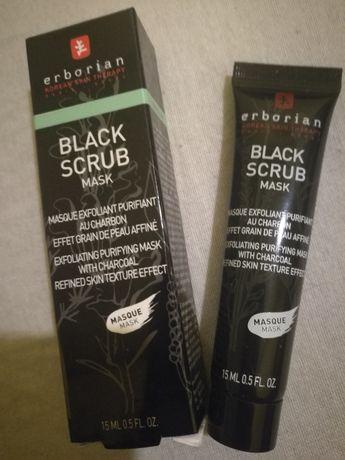 Erborian black scrub maseczka