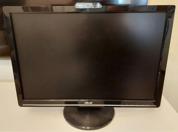 Monito Asus VK221D com webcam de 1.3MP incorporada