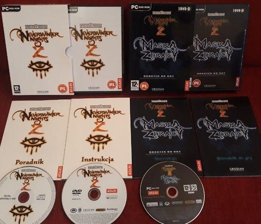 Neverwinter Nights 2 + Maska Zdrajcy PC PL - nowe/premierowe wydania