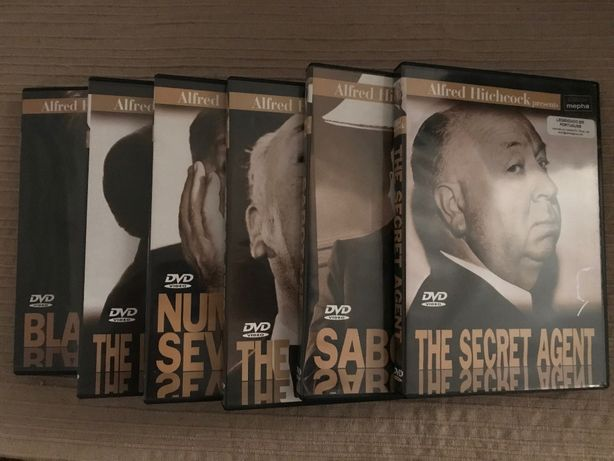 DVD Alfred Hitchcock