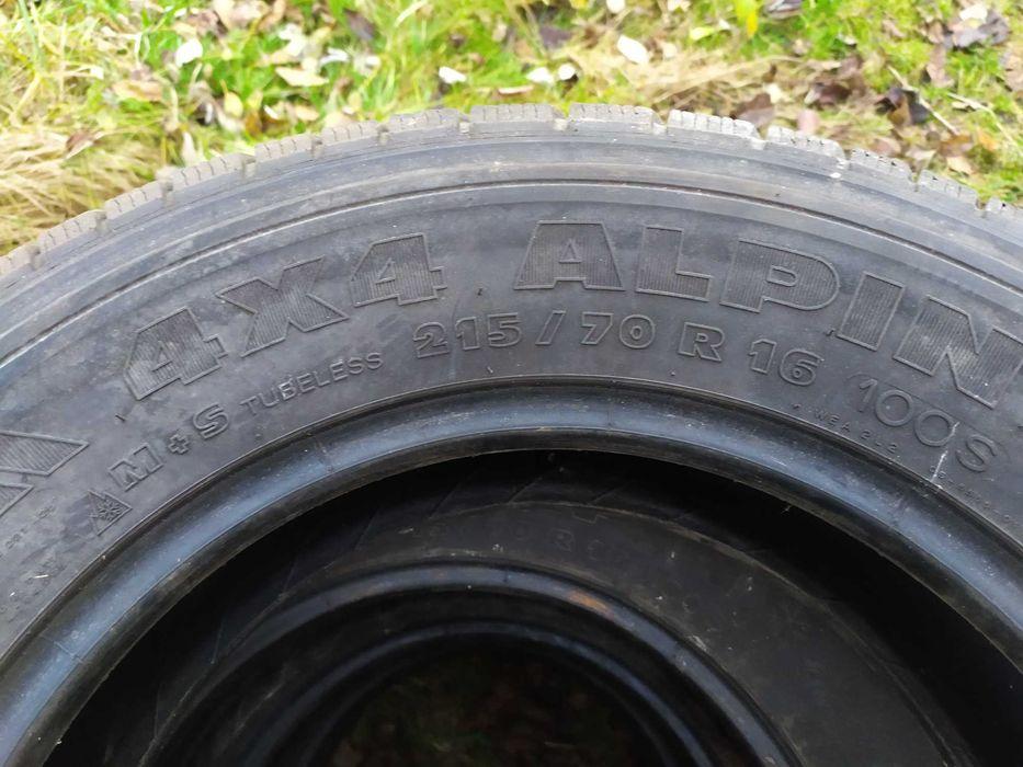 Резина Mishelin Alpin 215.70.16 Львов - изображение 1