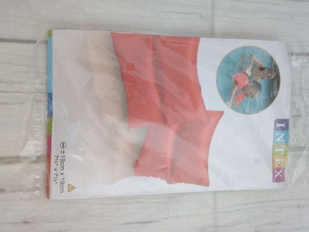 Нарукавники надувные для плавания intex 19 х 19 см