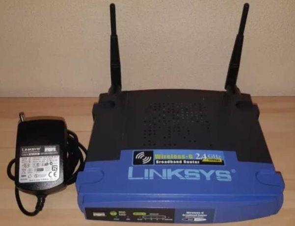Router bezprzewodowy Linksys WRT54GL *Możliwa wysyłka!*