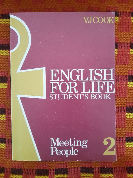 English for life Student's book.