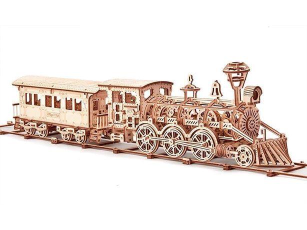 Оптовые цены! Конструктор, пазл деревянный 3D, произв. Wood trick