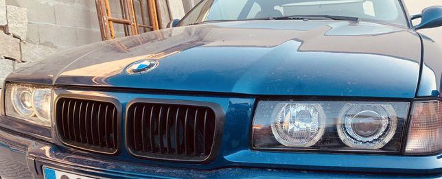 Grelhas pretas fase 2 BMW E36