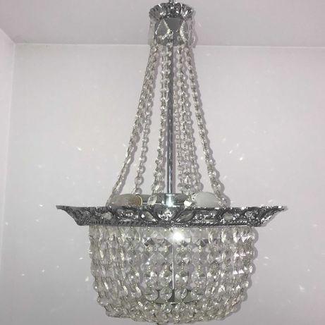 żyrandol kryształ