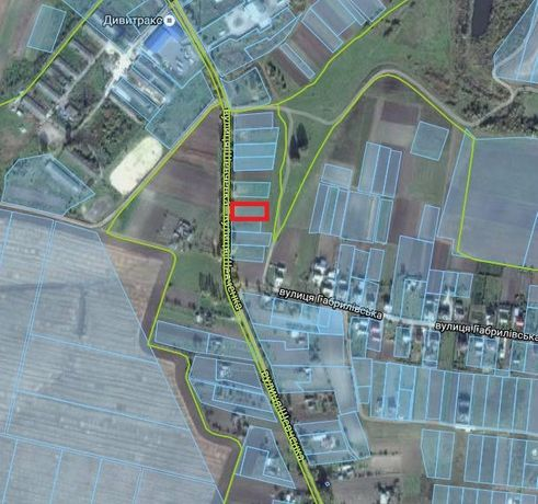 Продам земельну ділянку під будівництво с.Велика Омеляна