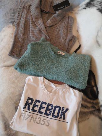 Zestaw ubrań damskich 152 cm H&M Reebok One Love