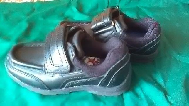 Туфли, кроссовки кожаные детские F&F для мальчика р.27