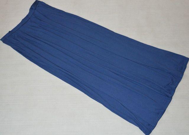 Atmosphere niebieska granatowa spódnica maxi 40