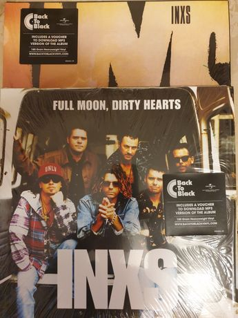 INXS - Full Moon,Dirty Hearts,Listen like thieves 2Lp.
