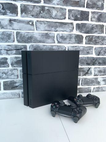 Ps4 fat 500 gb - 2 джойстика + 10 игр /playstation 4 - матовая