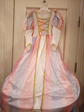 Карнавальный костюм платье принцесса волшебница фея бабочка красавица