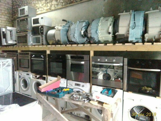 Ремонт пральних машин, запчастини, BOSCH, SIEMENS, MIELE.