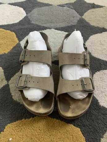 Sandały Zara boy r 34 skóra naturalna