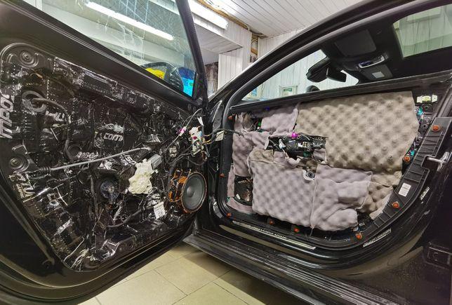 Wytłumienie drzwi wraz z wymianą głośników w Car Hi-Fi Lublin