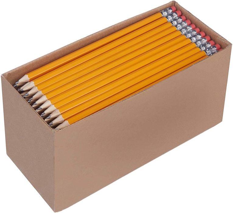 Oferta Flash - 150 Lápis n.º 2 HB - Escola - Madeira