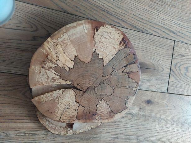 Podkładki drewniane lakierowane