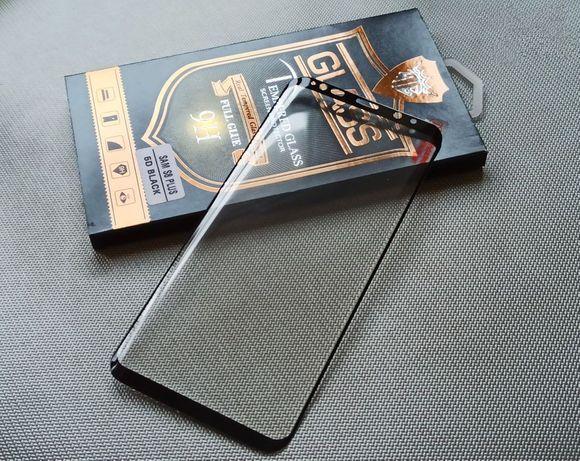 5D Full Glue стекло для Galaxy S8 Plus (Полный клей)
