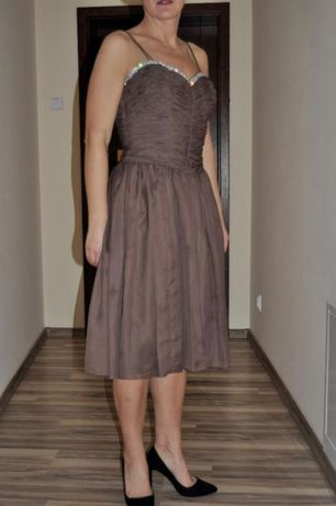 Sukienka na wesele Lou cyrkonie