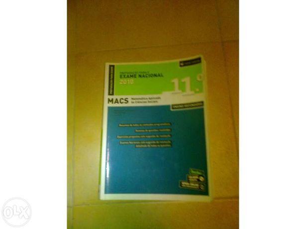 Vendo livro de preparação para o exame de MACS