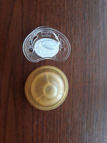 Соска латексна для бутилочки Chicco.