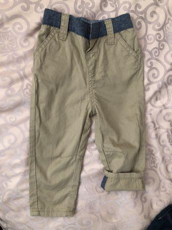 Штаны брюки легкие летние 68-74 см