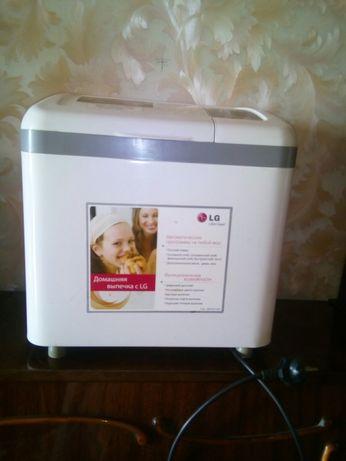 Хлебопечка lg hb - 1001cj с цифровым дисплеем