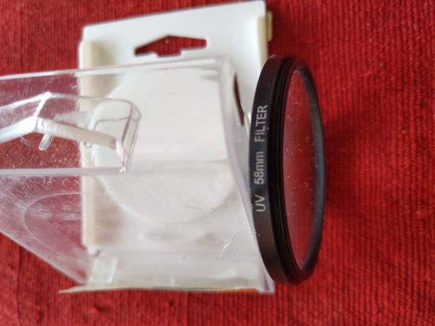 Filtro UV novo 58mm