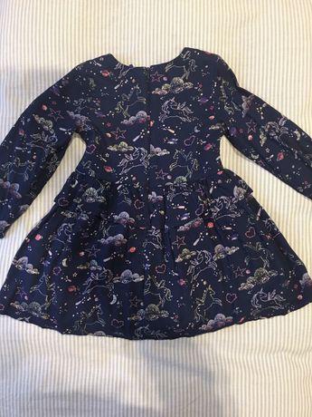 sukienka Marks & Spencer dla dziewczynek o wzroście 110 cm 4-5 lat