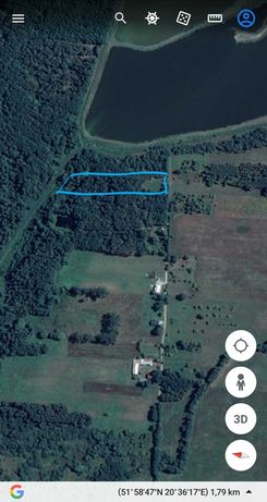Sprzedam działkę w spokojnej okolicy, 7 km Od Mszczonowa,30m do Wawy.