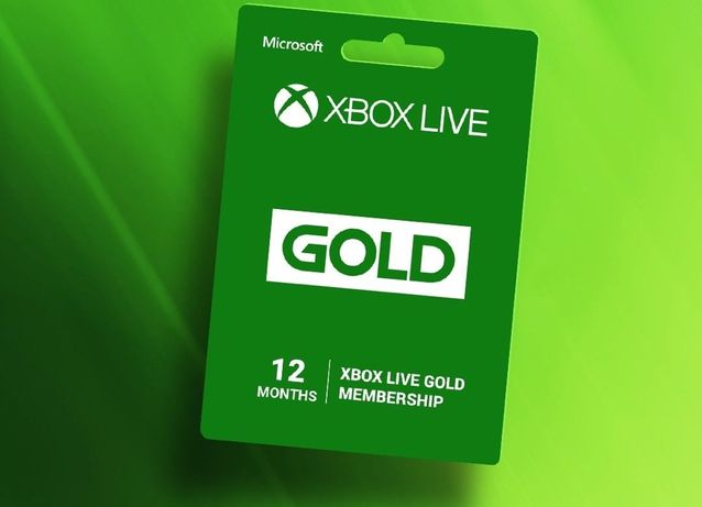 Xbox Live Gold Game Pass