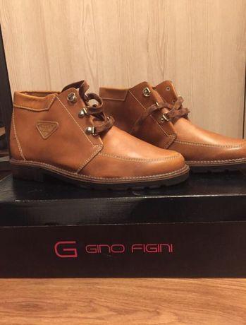 Мужские кожаные ботинки новые !